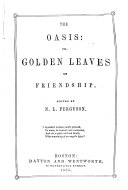 The Oasis  or Golden leaves of frienship