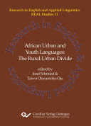 African Urban and Youth Languages