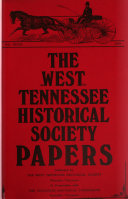 The West Tennessee Historical Society Papers