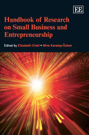 Pdf Handbook of Research on Small Business and Entrepreneurship Telecharger