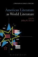 American Literature as World Literature