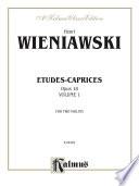 Etudes Caprices Opus 18