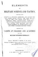 Elements of Military Science and Tactics