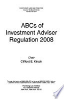 The ABCs of Investment Adviser Regulation