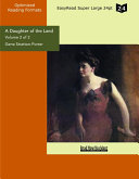 A Daughter of the Land (Volume 2 of 2) (EasyRead Super Large 24pt ...