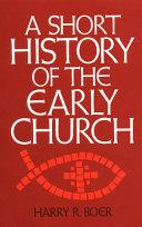 A Short History of the Early Church Pdf/ePub eBook