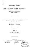 Abbott's Cyclopedic Digest Pdf/ePub eBook