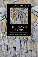 The Cambridge Companion to The Waste Land