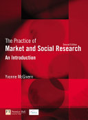 The Practice of Market and Social Research
