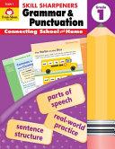 Skill Sharpeners Grammar and Punctuation  Grade 1