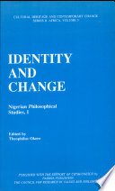 Identity And Change