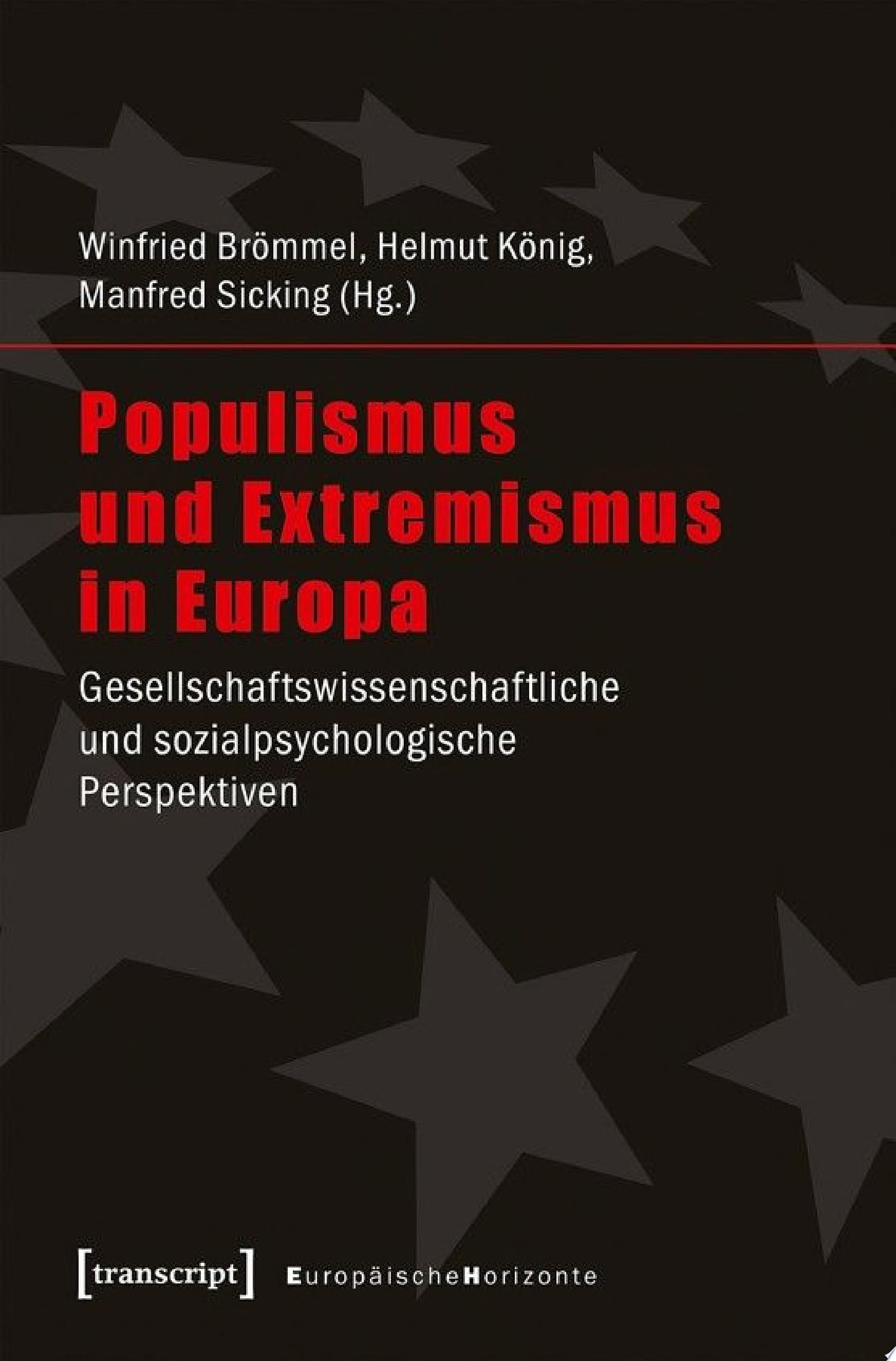 Populismus und Extremismus in Europa