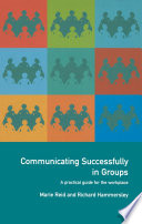 Communicating Successfully in Groups Book PDF