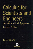 Calculus for Scientists and Engineers