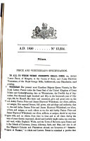 English Patents of Inventions, Specifications