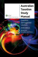Australian Taxation Study Manual [Pdf/ePub] eBook