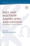 Paul and Matthew Among Jews and Gentiles Pdf/ePub eBook