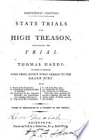 State Trials for High Treason