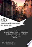 III INTERNATIONAL SCIENCE CONFERENCE ON E-LEARNING AND EDUCATION