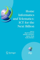 Home Informatics and Telematics: ICT for the Next Billion Pdf/ePub eBook