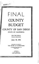 Final County Budget