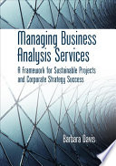 Managing Business Analysis Services Book PDF