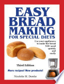 Easy Breadmaking For Special Diets Third Edition Book PDF