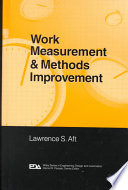 Work Measurement and Methods Improvement