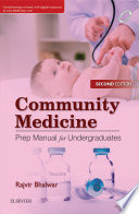 """Community Medicine: Prep Manual for Undergraduates, 2nd edition-Ebook"" by Bhalwar Rajvir"