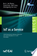 IoT as a Service