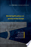 Mental Health Policy And Practice Across Europe