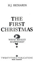 The first Christmas :Bwhat really happened?