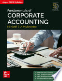 Fundamentals of Corporate Accounting Book