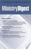 Ministry Digest Vol 03 No 06
