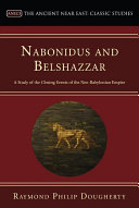Nabonidus and Belshazzar