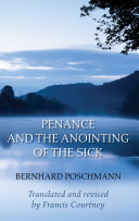 Penance and the Anointing of the Sick