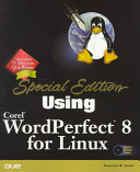 Using Corel WordPerfect 8 for Linux