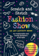 Fashion Show Scratch and Sketch