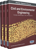 Civil and Environmental Engineering  Concepts  Methodologies  Tools  and Applications