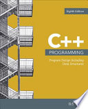 Cover of C++ Programming: Program Design Including Data Structures