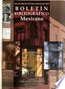 Boletín bibliográfico mexicano  , Ausgaben 476-481