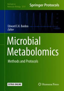 Microbial Metabolomics Book