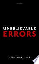 Unbelievable Errors