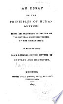 An Essay on the Principles of Human Action