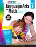 Spectrum Language Arts and Math  Grade 1