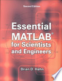 Essential Matlab For Scientists And Engineers Book PDF