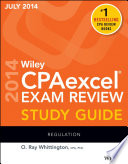 Wiley CPAexcel Exam Review Spring 2014 Study Guide Book