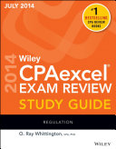 Wiley CPAexcel Exam Review Spring 2014 Study Guide