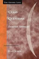 Class Questions
