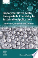 Biopolymer Based Metal Nanoparticle Chemistry for Sustainable Applications